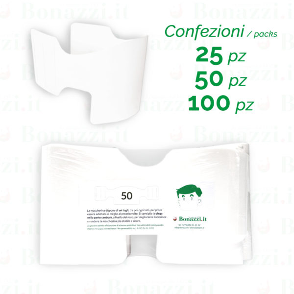 Mascherine in carta, confezioni | Stampa in Italia 5